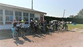 L'accueil de loisirs de Varennes sur Allier en roue libre