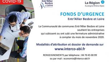 Fonds d'urgence Entr'Allier Besbre et Loire